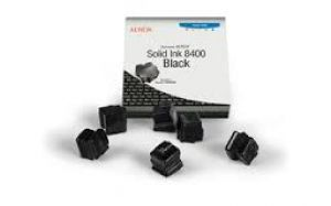 Fuji Xerox 108r00608 Solid ink Black Phaser 8400 6 Stick