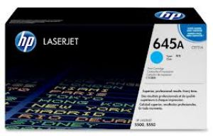 HP 645A CYAN ORIGINAL LASERJET TONER CARTRIDGE C9731A