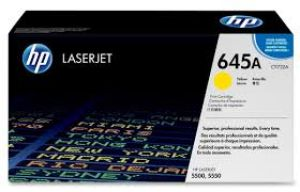 HP 645A YELLOW ORIGINAL LASERJET TONER CARTRIDGE C9732A