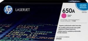 HP 650A MAGENTA ORIGINAL LASERJET TONER CARTRIDGE CE273A