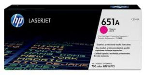 HP 651A MAGENTA ORIGINAL LASERJET TONER CARTRIDGE CE343A