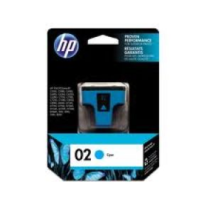 HP 02 CYAN INK CATRIDGE(C8771WA)