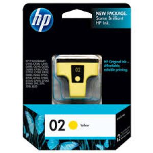HP 02 YELLOW INK CATRIDGE(C8773WA)