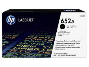 HP 652A Black LaserJet Toner Cartridge CF320A
