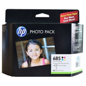 HP 685 CMYK Ink Cartridge PVP Pack[J3N05AA]