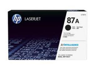 HP 87A Black Original LaserJet Toner Cartridge CF287A