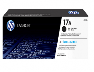 HP 17A Black Original LaserJet Toner Cartridge(CF217A)