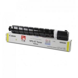 CANON NPG 67 YELLOW TONER CATRIDGE ORIGINAL