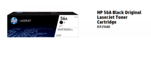 HP 56A Black Original LaserJet Toner Cartridge [CF256A]